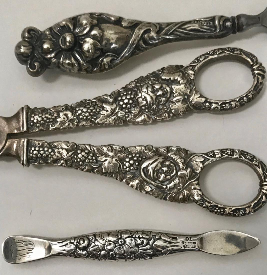Antique Sterling Silver Vanity Items - 2