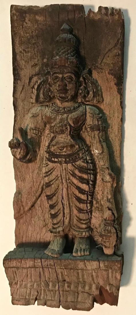 Hindu Temple Deity Panel Carving, India