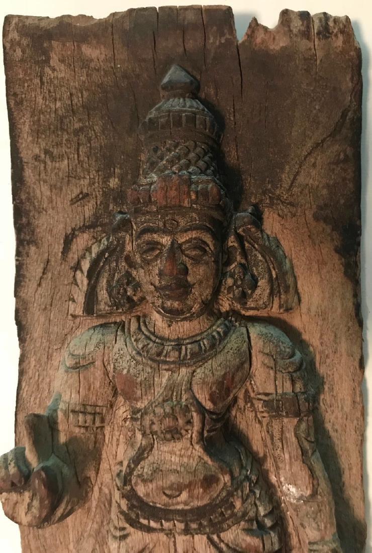 Hindu Temple Deity Panel Carving, India - 2