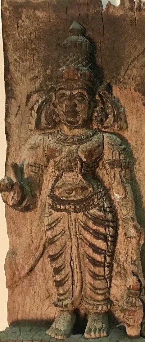 Hindu Temple Deity Panel Carving, India - 4