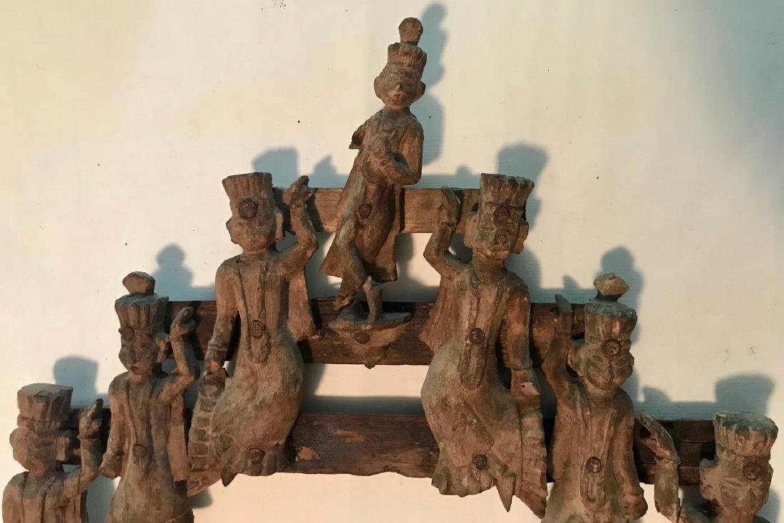 19th century Indian Temple Figural Arc, India - 2