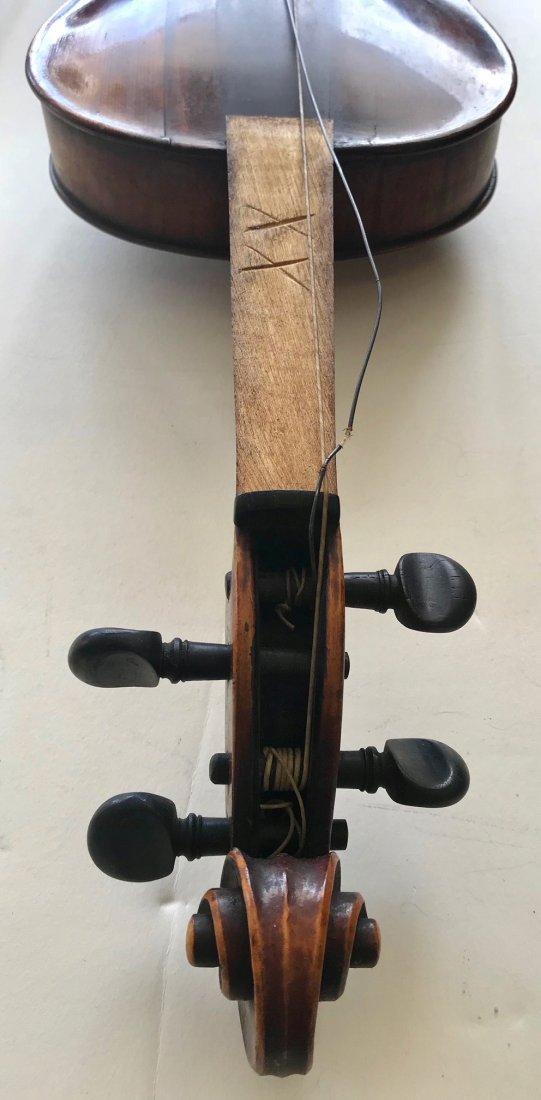 Vintage German Hopf Violin W/ Bows including G.Magniere - 6