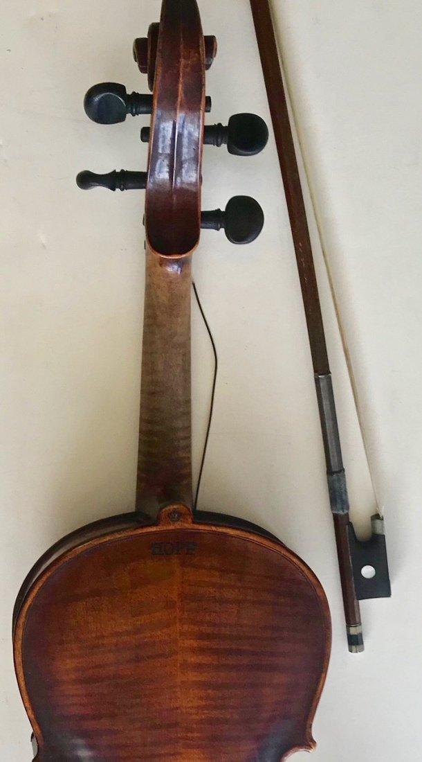 Vintage German Hopf Violin W/ Bows including G.Magniere - 7