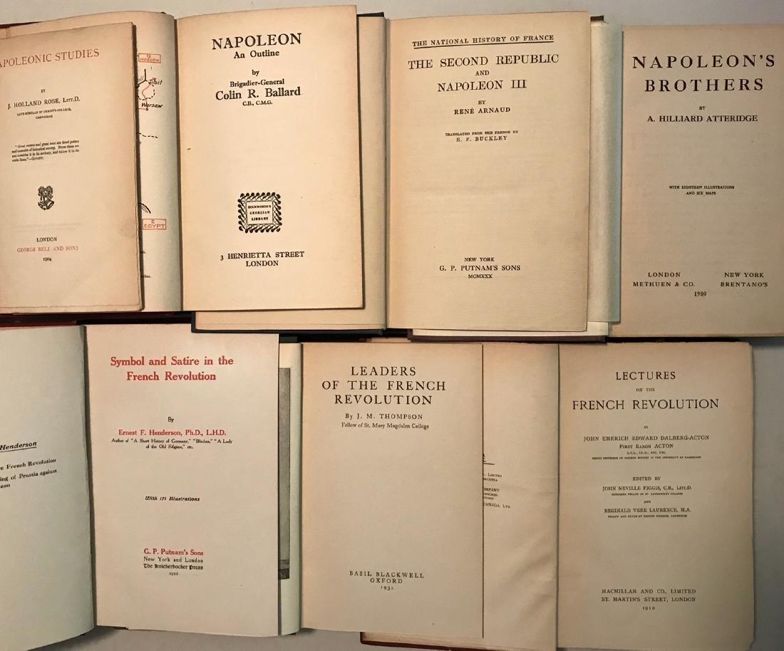 Antiquarian Books: Napoleon & French Revolution - 2