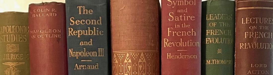 Antiquarian Books: Napoleon & French Revolution - 4