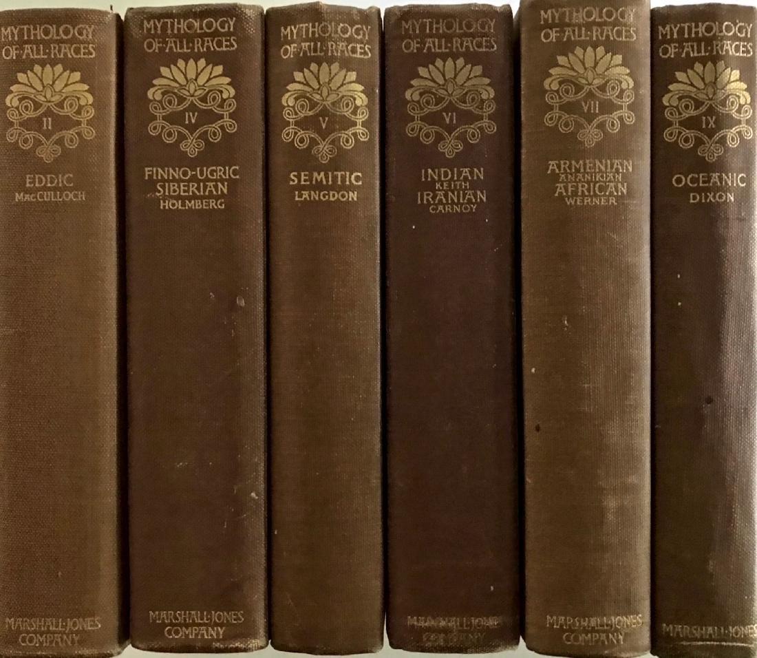 Antiquarian Books: Mythology Of All Races