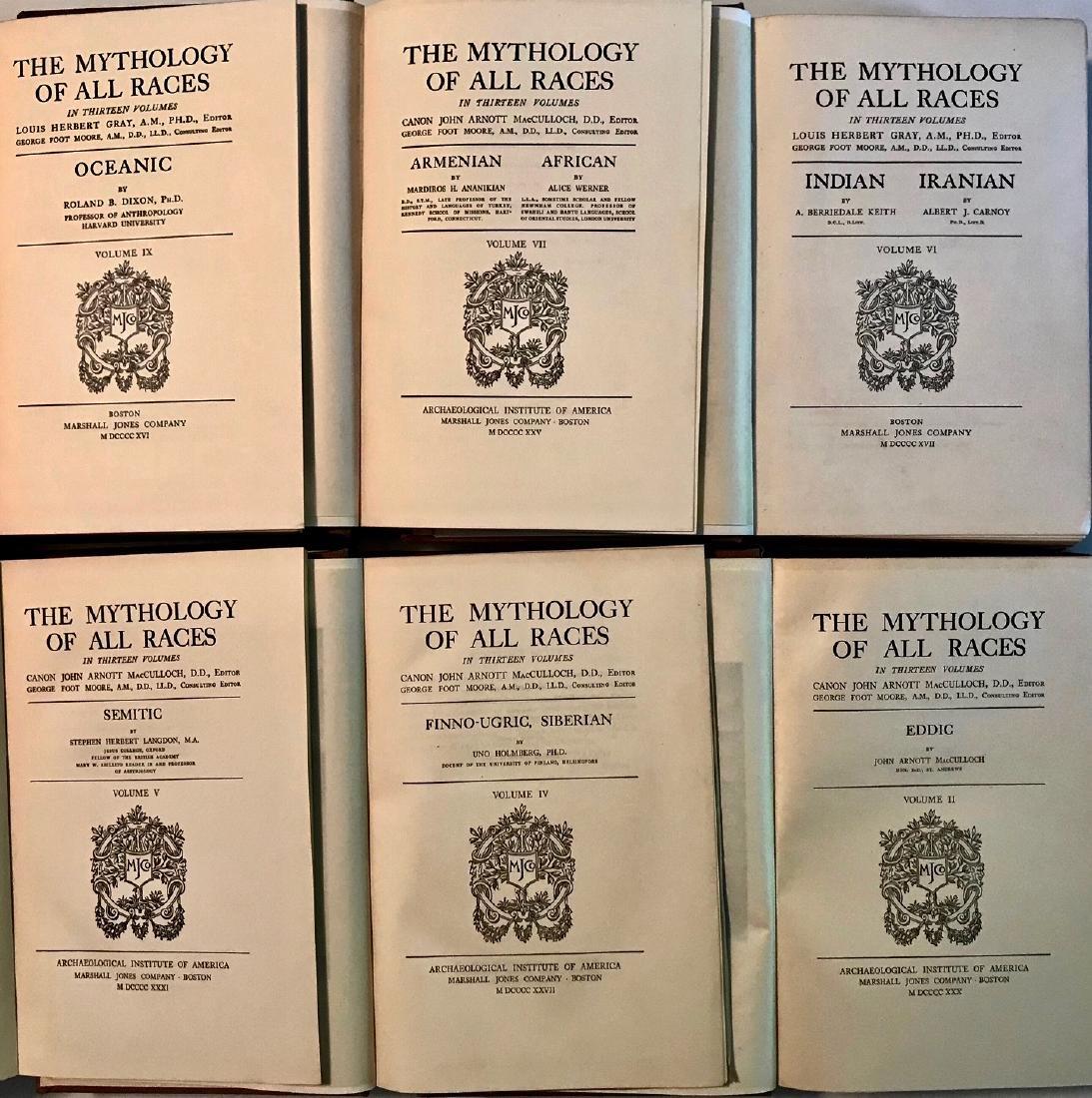 Antiquarian Books: Mythology Of All Races - 3
