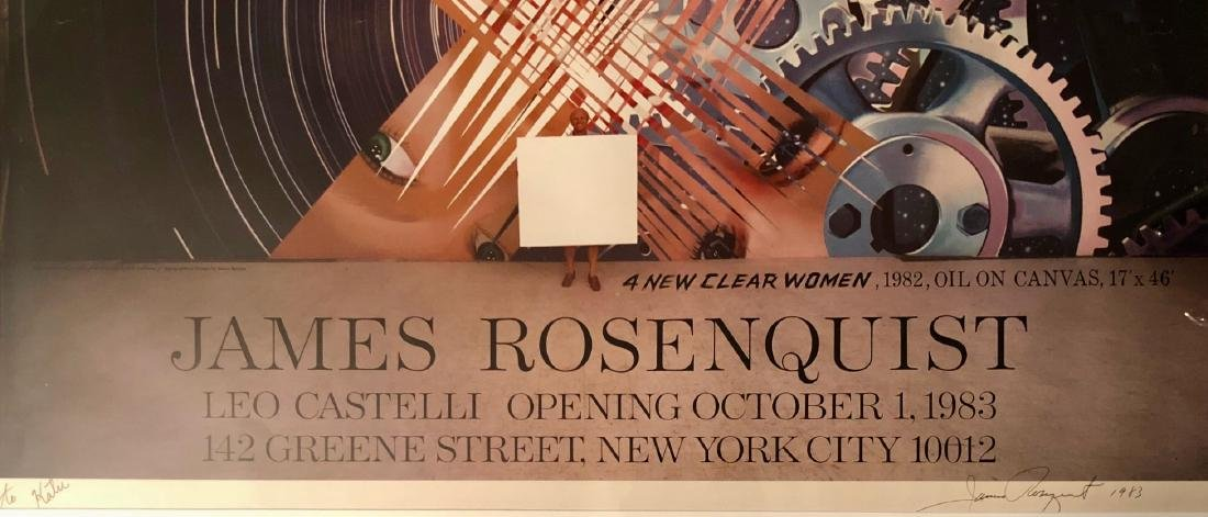 James Rosenquist (American, 1933-2017) - 4