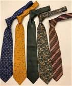 Men's Silk Ties FERRAGAMO, HERMES, CHANEL (5)