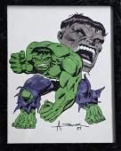 Marvel Comics HULK Illustration Art ALEX SAVIUK