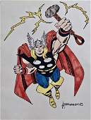 Marvel Comics THOR Illustration Art ALEX SAVIUK