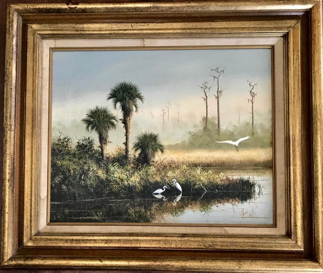 Ben Essenburg Wildlife Painting AUGUST MORNING 1978