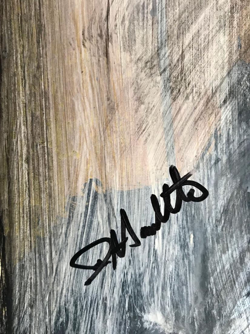 Richard Hambleton SHADOW MAN Painting - 2