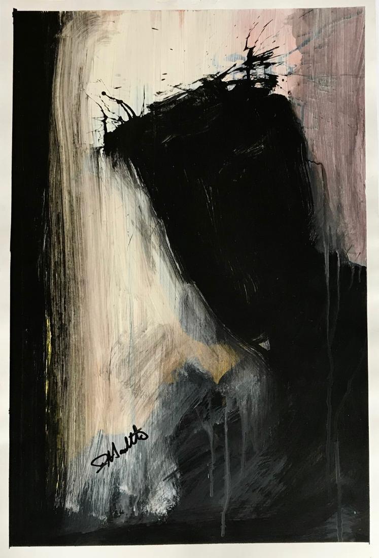 Richard Hambleton SHADOW MAN Painting - 3