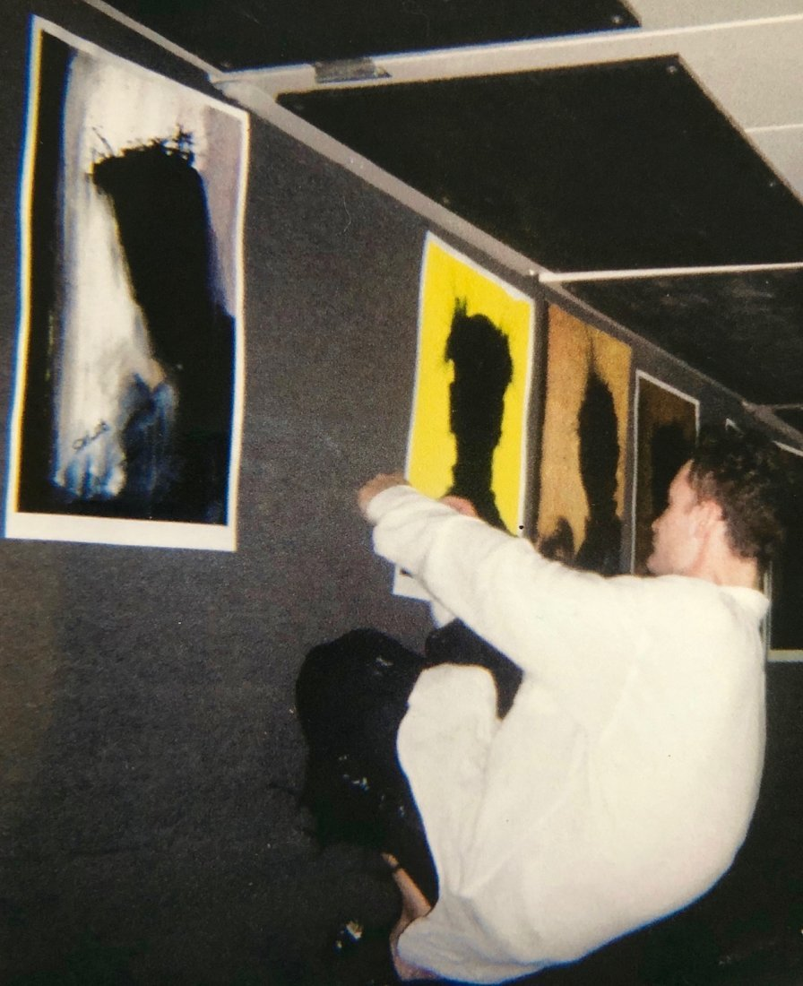 Richard Hambleton SHADOW MAN Painting - 4