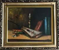 Still Life Painting with Balalaika, C. Joshma