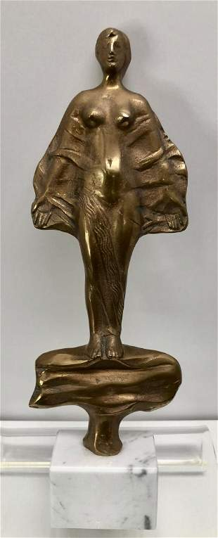 Hungarian Bronze Sculpture, Gyorgyi Lantos