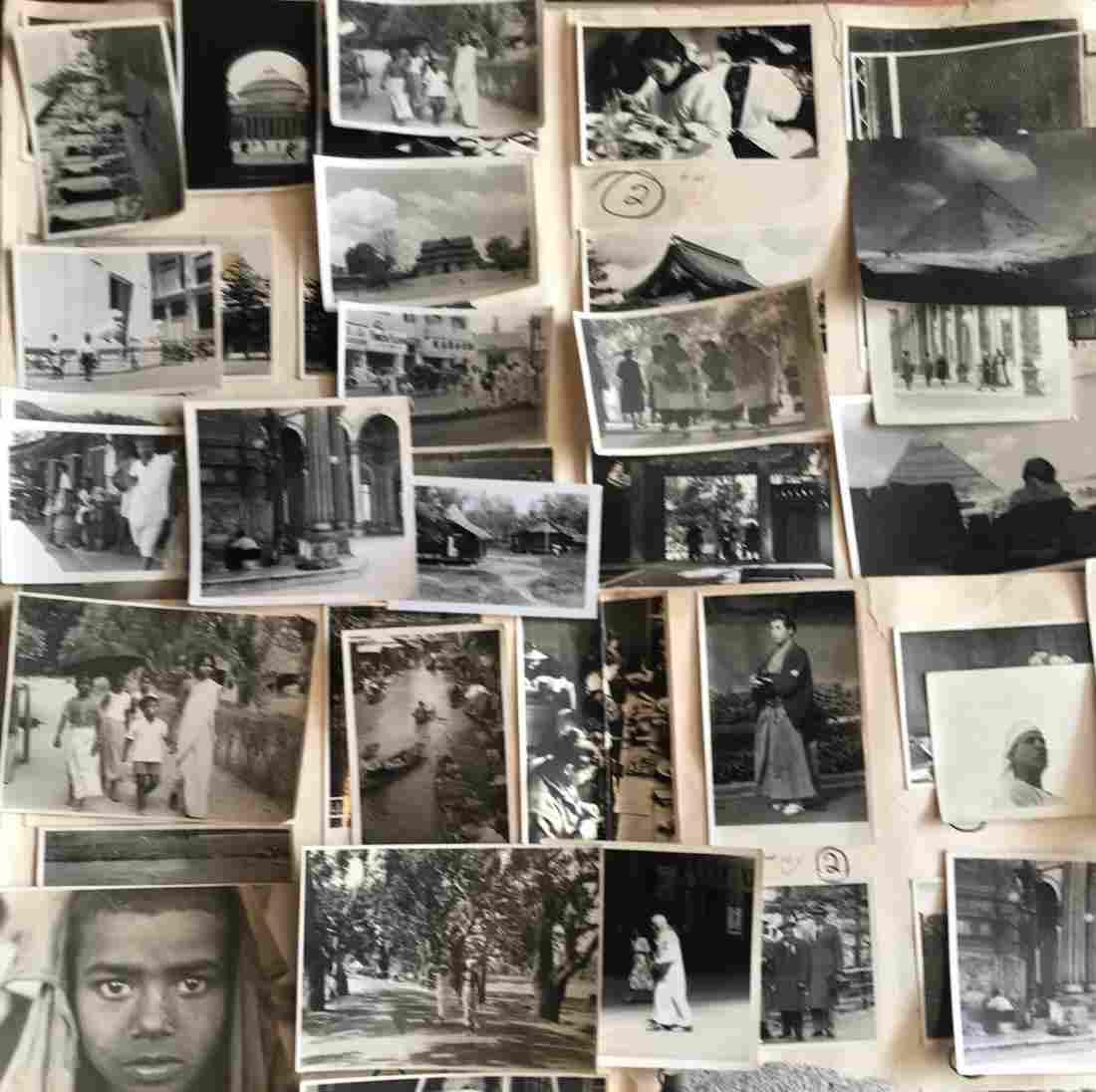 1930s Photograph Album INDIA JAPAN CHINA KOREA, EGYPT