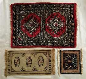 Three Handwoven Persian Wool Rugs