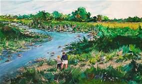 Hudson Valley Landscape Oil Painting JOHN KRUPPA
