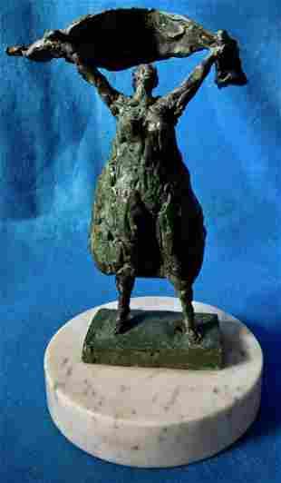 Mexican Modernist Bronze Sculpture HUMBERTO PERAZA