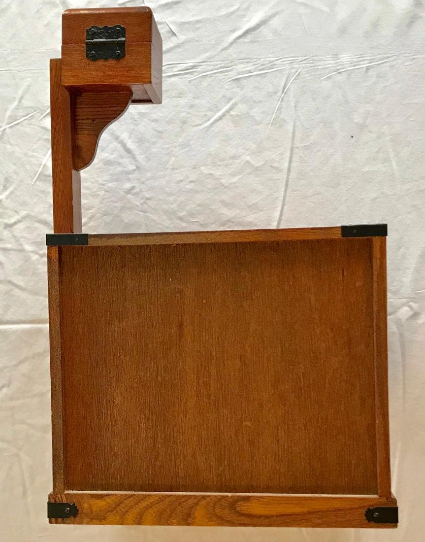 Antique Japanese Wood Sewing Cabinet - 2