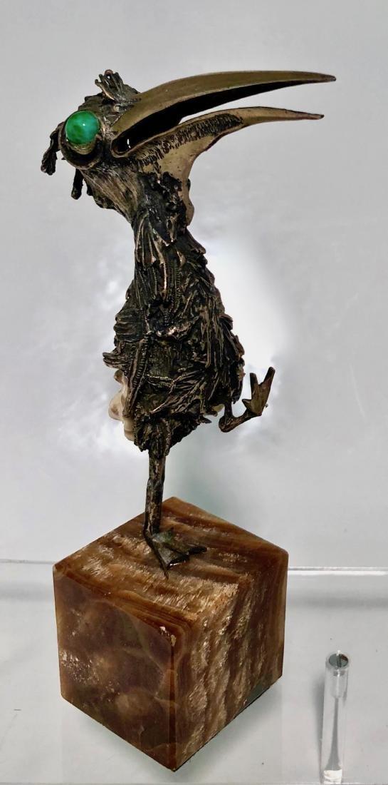 Mid-Century Modernist Bird Sculpture TENO AURELIO - 2