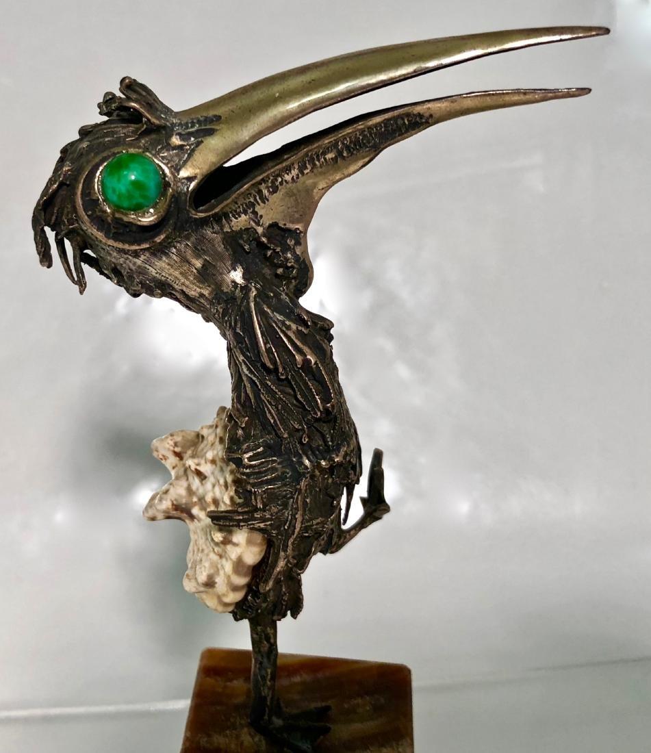 Mid-Century Modernist Bird Sculpture TENO AURELIO - 3