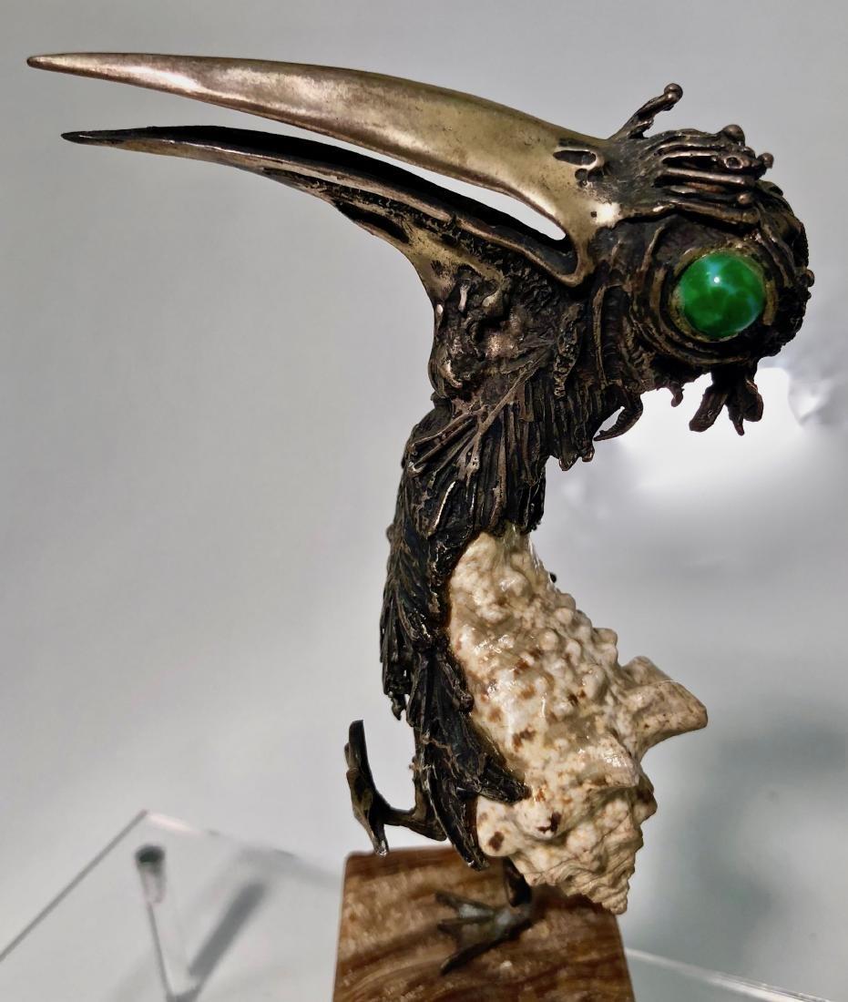 Mid-Century Modernist Bird Sculpture TENO AURELIO - 4