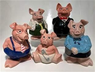 Wade England NatWest Piggy Banks 1980s
