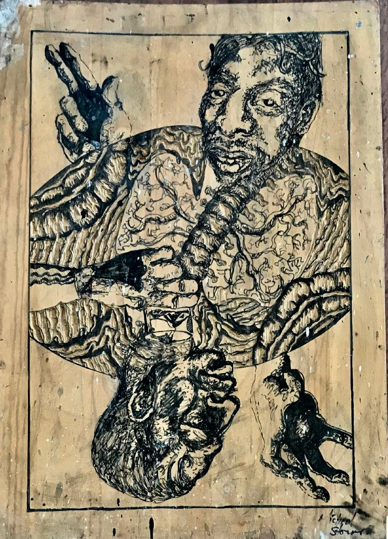 Urban Outsider Art African American, Storing 1980