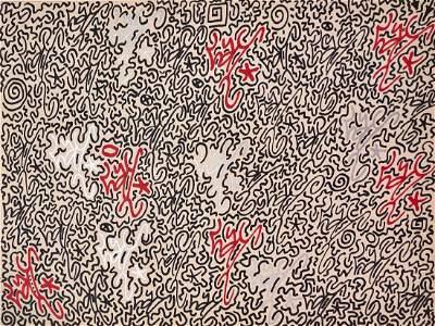 LA lI (Angel Ortiz) Urban Graffiti Painting