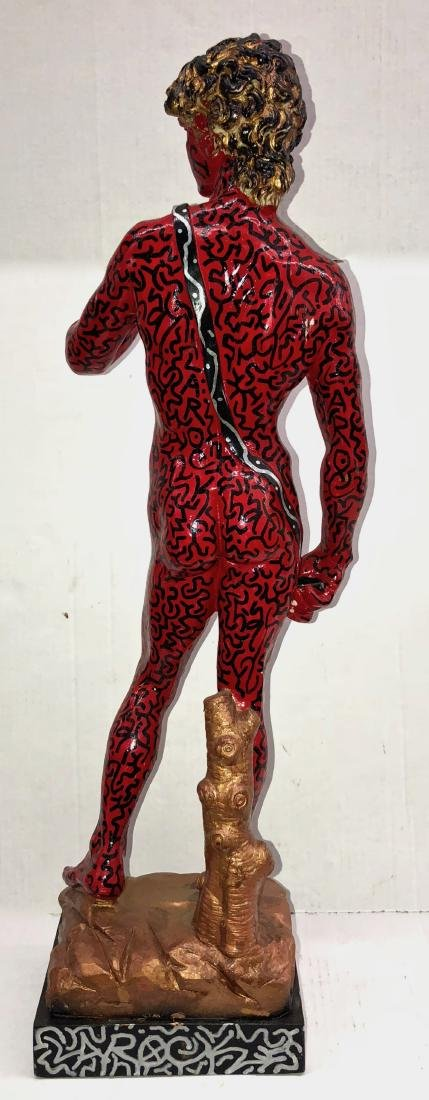 LA II (Angel Ortiz) Graffiti Painted Sculpture LA ROCK - 2