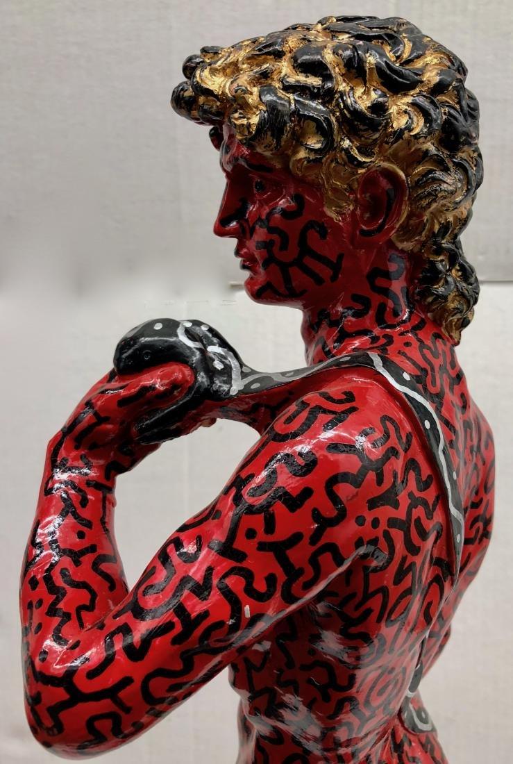 LA II (Angel Ortiz) Graffiti Painted Sculpture LA ROCK - 3