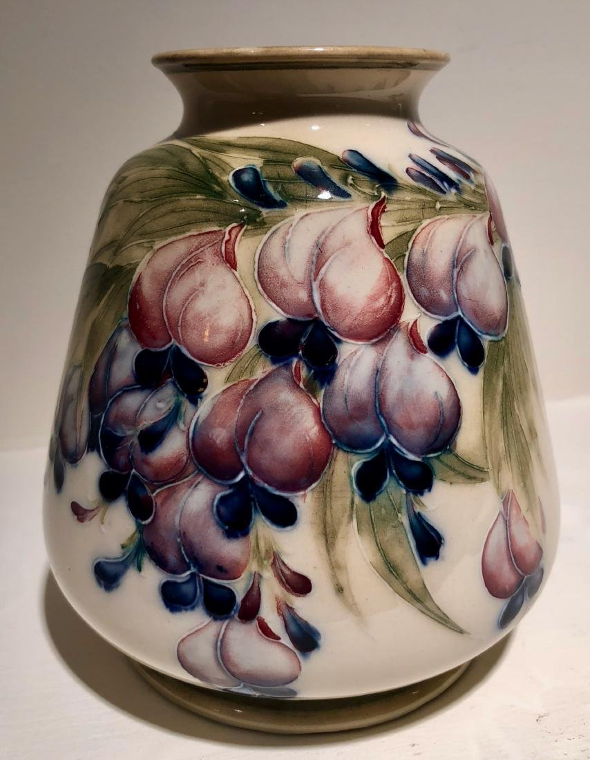 Moorcroft Wisteria Vase, Circa 1913
