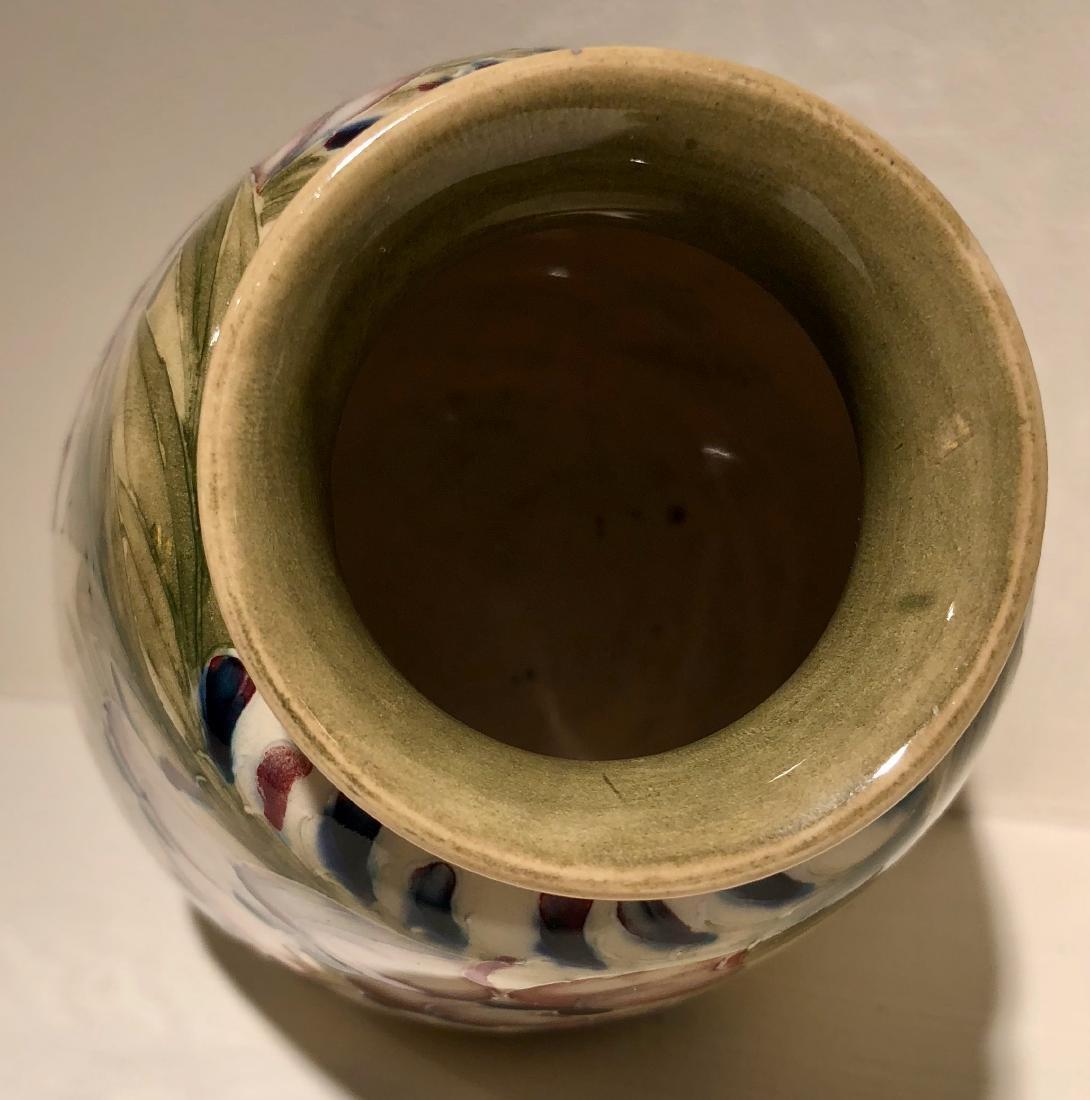 Moorcroft Wisteria Vase, Circa 1913 - 5