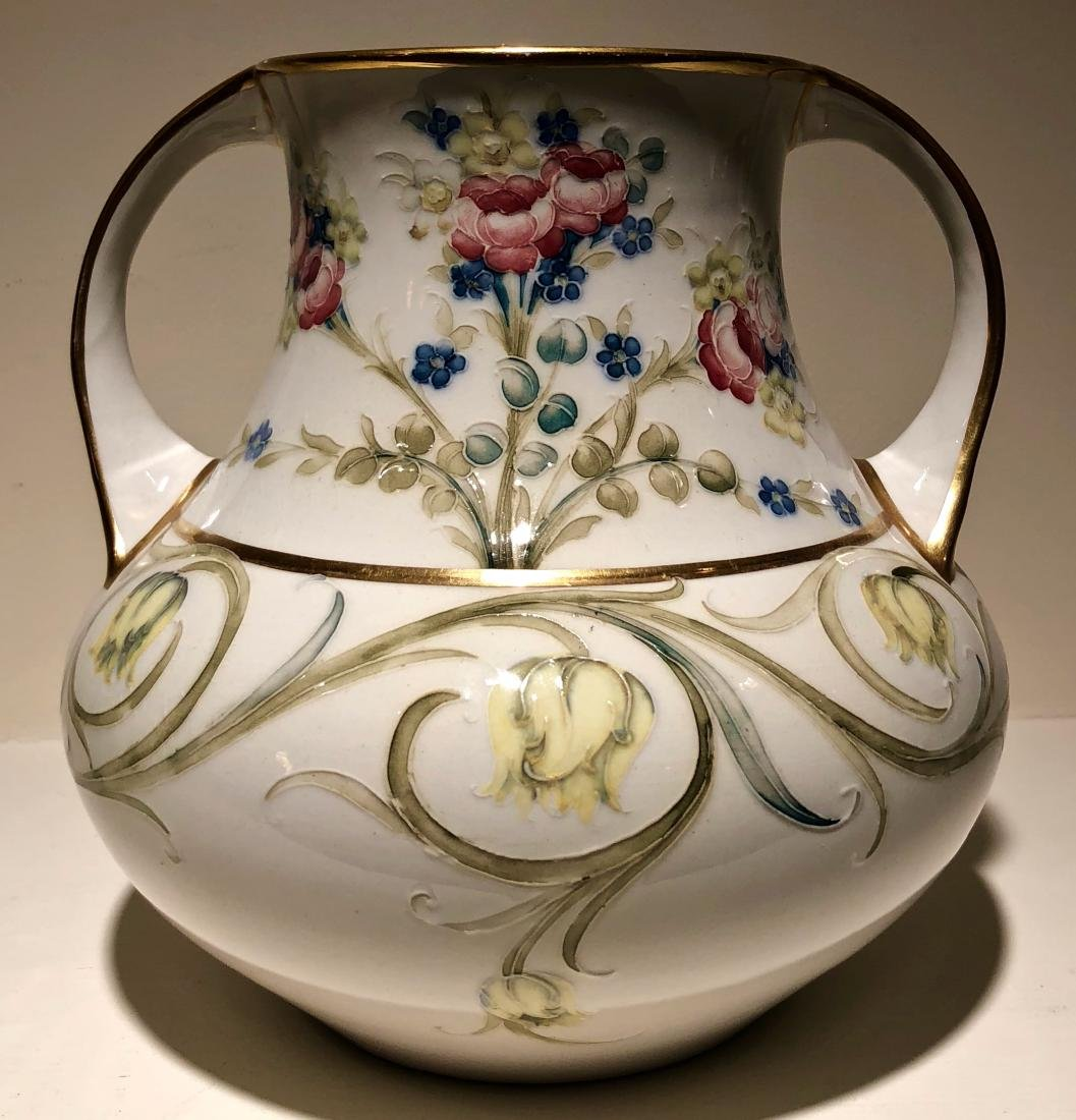 William Moorcroft Twin Handled Vase, Circa 1907