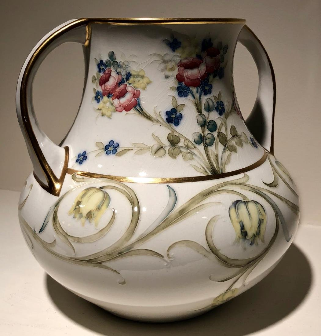 William Moorcroft Twin Handled Vase, Circa 1907 - 2