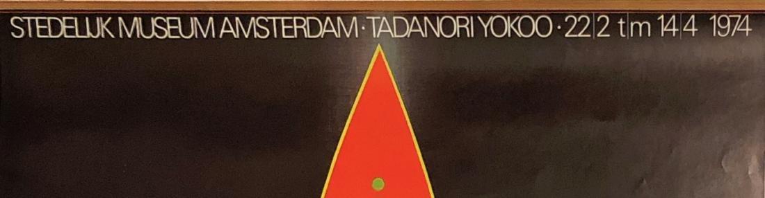 TADANORI YOKOO Stedelijk Museum Amsterdam 1974 - 2
