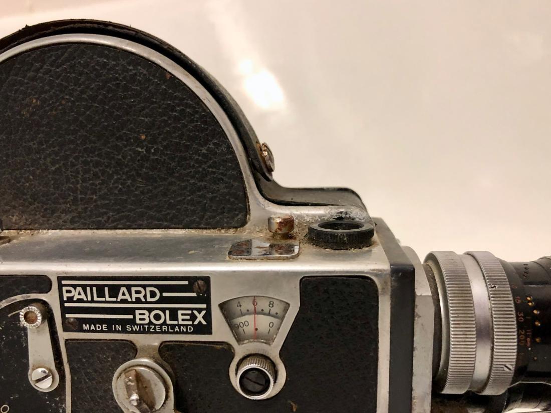 Bolex H16 Reflex Motion Picture Camera Switzerland - 2