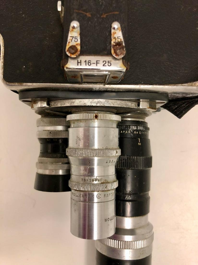 Bolex H16 Reflex Motion Picture Camera Switzerland - 7