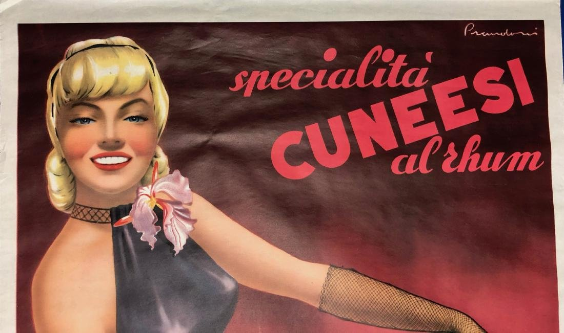Chocolate Arione Cuneesi Advertisement Poster 1951 - 5
