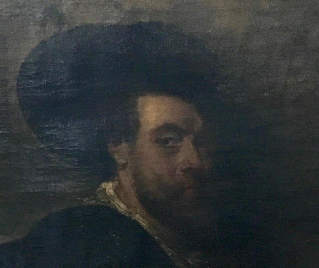 19th C. Oil Painting SELF PORTRAIT Peter Paul Rubens - 3