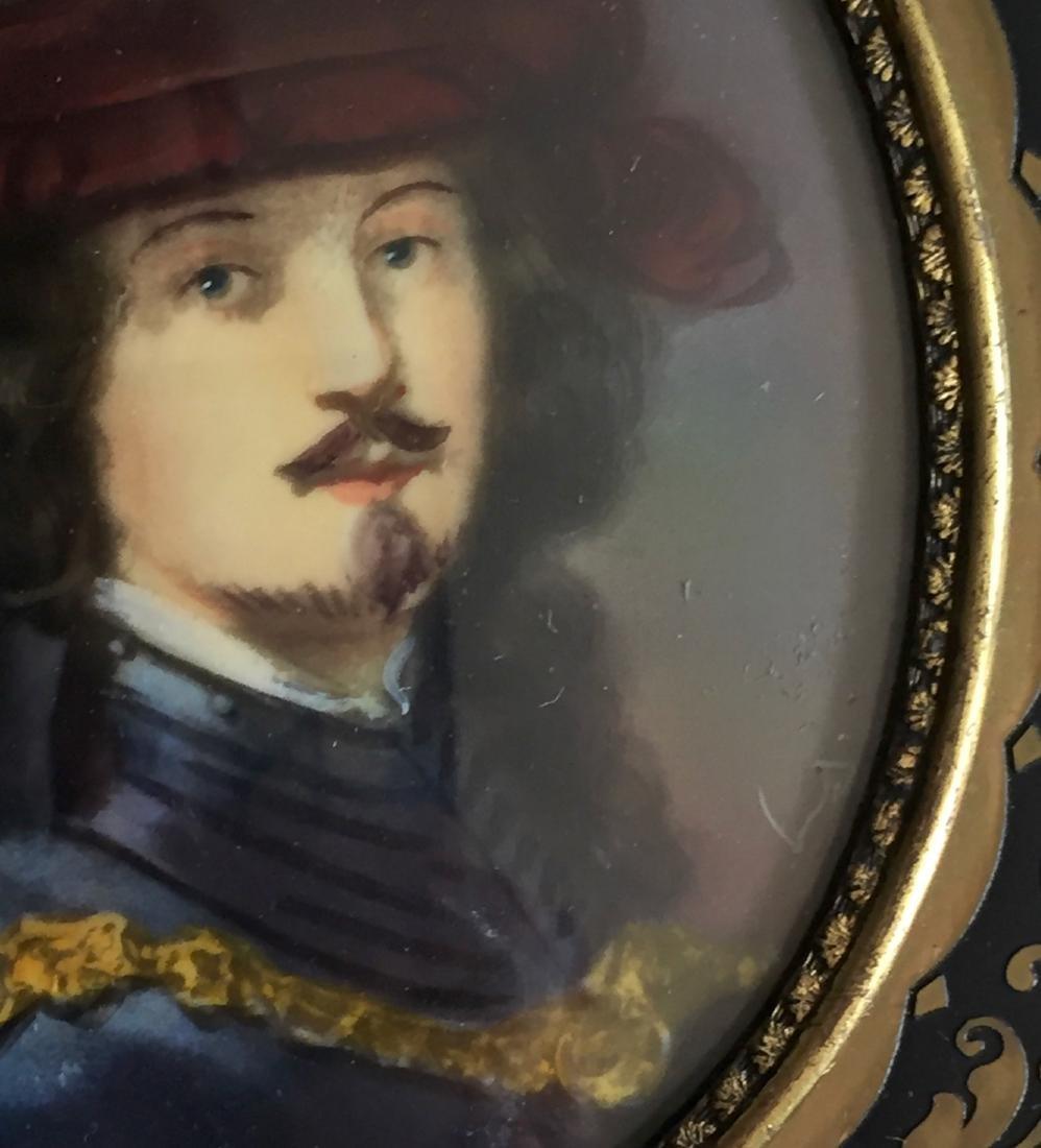 Grand Tour Miniature Painting Rembrandt Van Rijn - 2