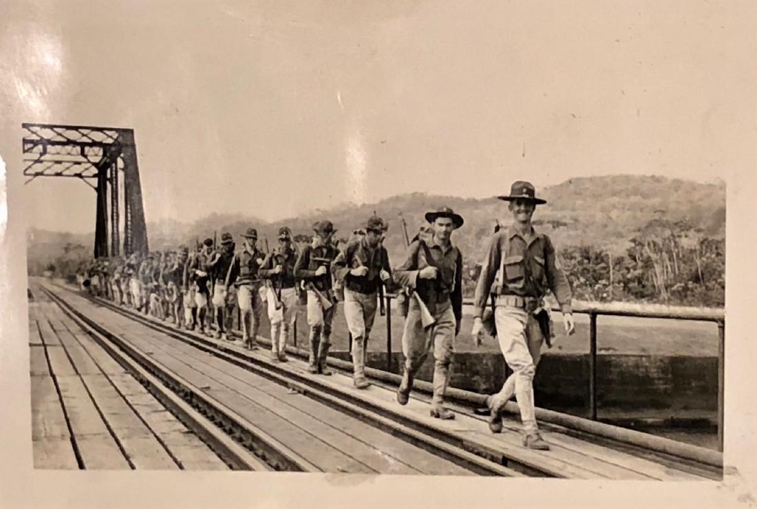 American Military Photograph & Postcard Album (240+) - 10