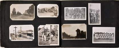 American Military Photograph  Postcard Album 240