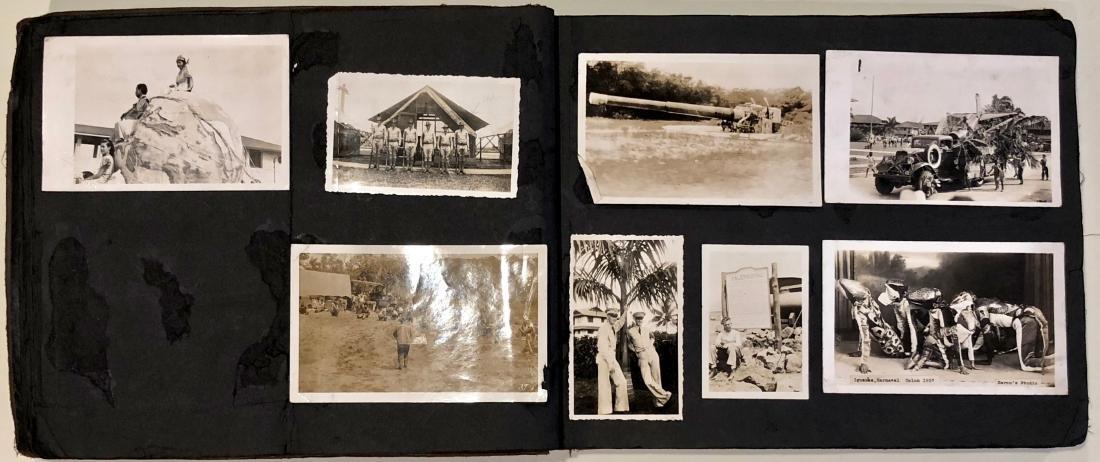 American Military Photograph & Postcard Album (240+) - 3