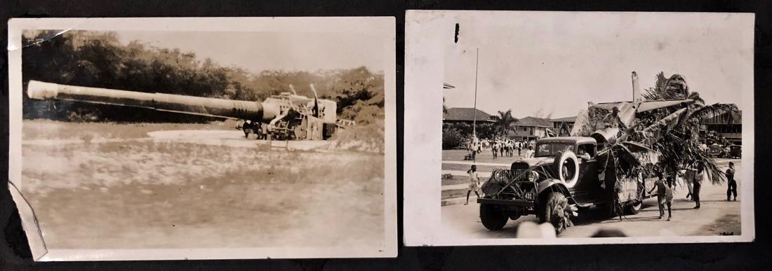 American Military Photograph & Postcard Album (240+) - 4