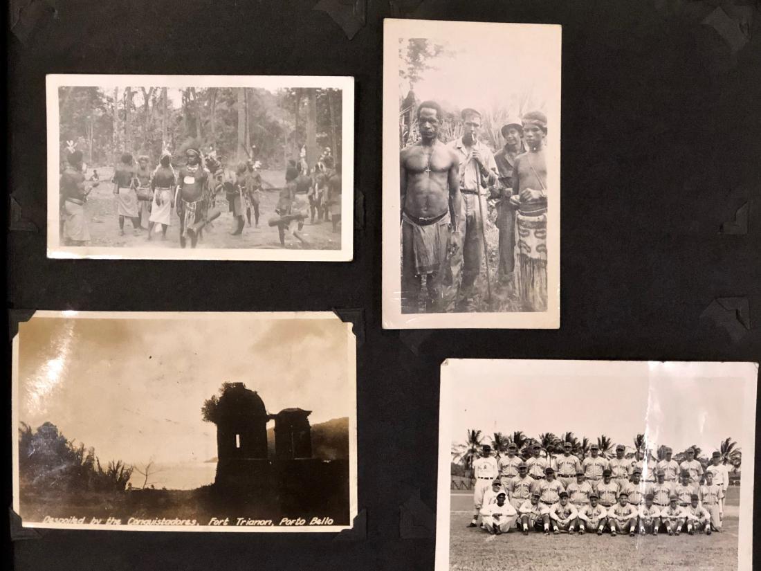 American Military Photograph & Postcard Album (240+) - 5