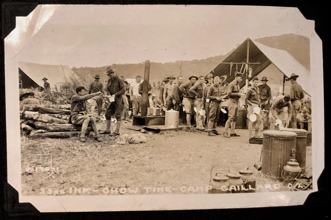 American Military Photograph & Postcard Album (240+) - 7